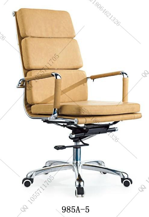 供应经典环保进口韩皮椅PU皮椅老板椅可定做真皮椅