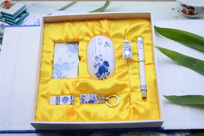 北京陶瓷工艺纪念U盘签字笔