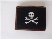 Needlepoint Leather Wallets