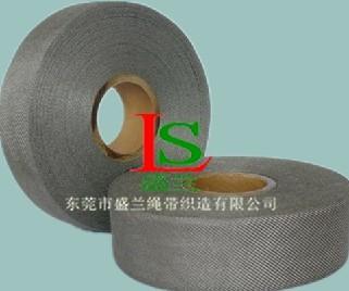 耐高温耐腐蚀不锈钢纤维机织带