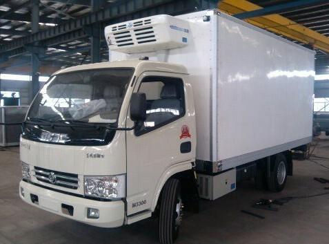 1.5吨清真食品运输车 冷冻车价格 海鲜车