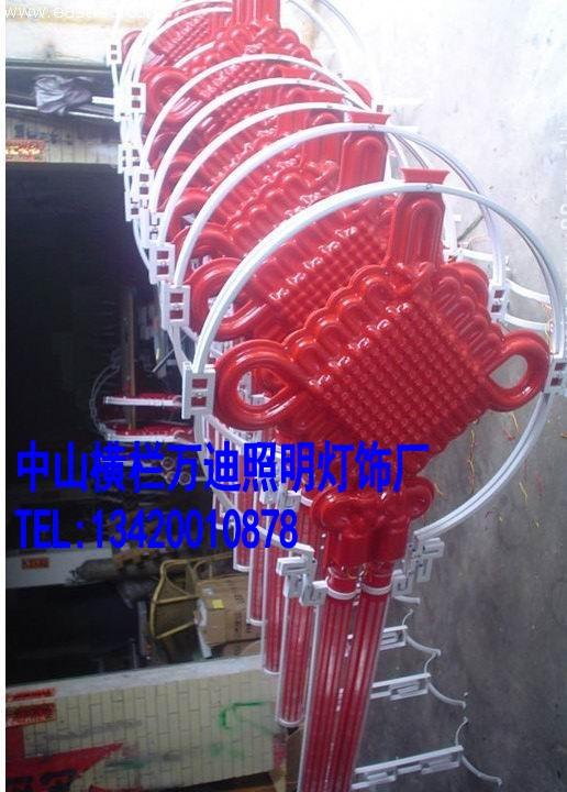 LED中国结,红中国结,发光中国结