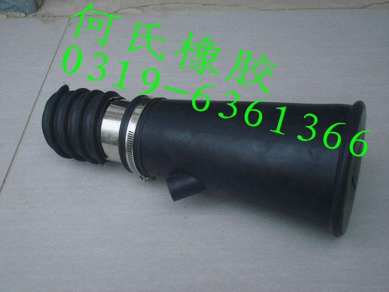 尾气管嘴汽车排气管嘴排气管接头橡胶吸嘴汽车尾气抽排专用管吸嘴