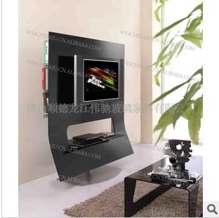 视听柜ST053 热弯玻璃视听柜25-72寸液晶电视架 特价