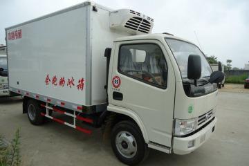 东风锐玲4米厢式冷藏车新中昌罗国鉴销售