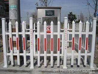 供应电力塑钢护栏,箱变塑钢护栏