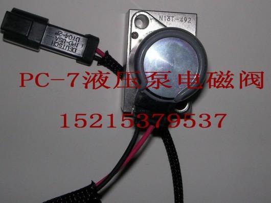 PC200-8液压泵电磁阀18753753820