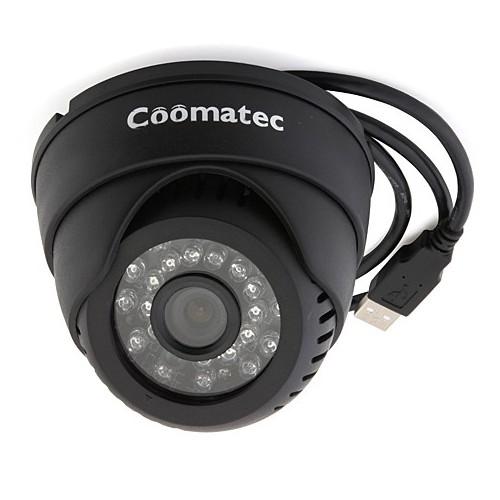 Coomatec 监控一体机,店铺监控半球USB插卡摄像机