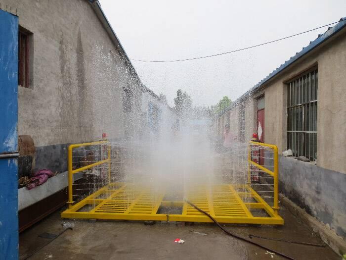 供应郑州建筑工地洗轮机 渣土车洗车台