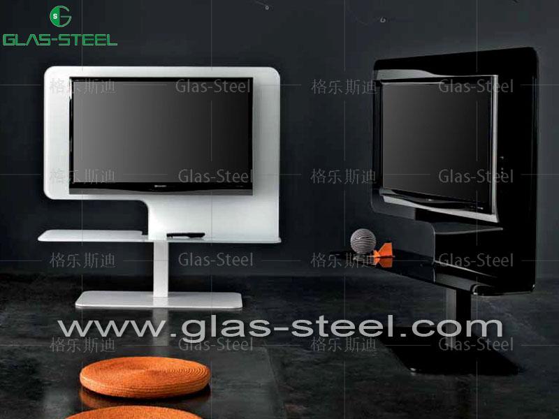 玻璃电视柜 玻璃视听柜 玻璃电视架STD12厂家直销