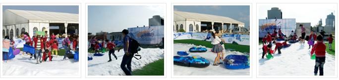 青岛三友造雪机打造零上冰雪天地
