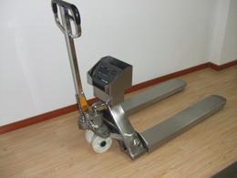 2500kg液压托盘车电子秤,2.5吨手动液压叉车秤,牛头泵