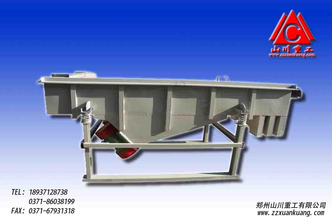 合理的破碎筛分工艺流程中高效新型筛分设备直线振动筛