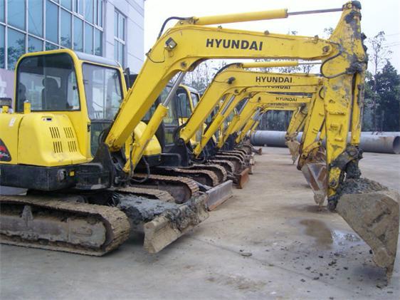 现代二手挖掘机 江苏二手挖机市场