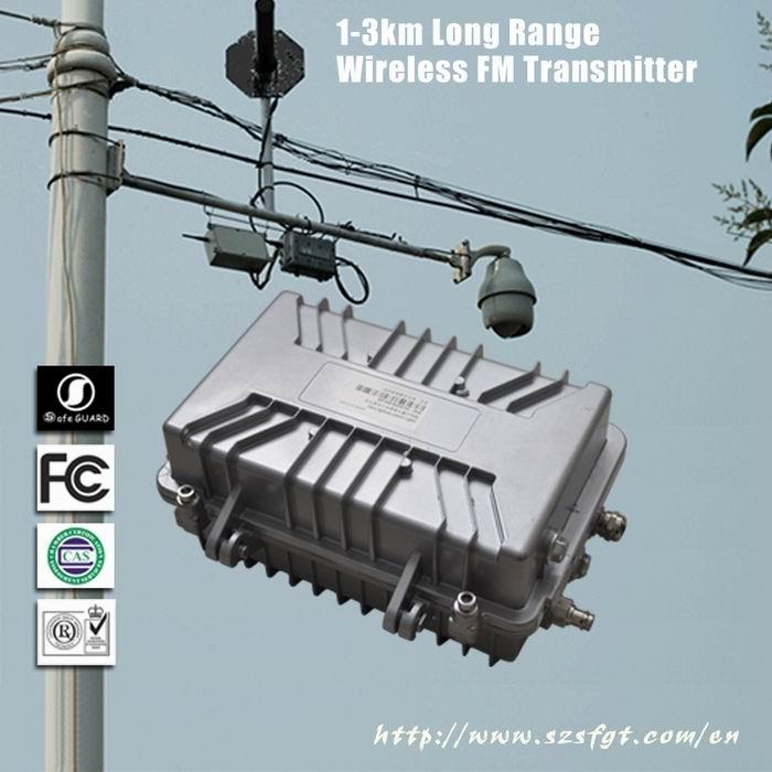 防水视频发射机,室外远程监控,远程无线监控,无线视频传输