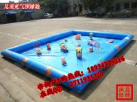 儿童充气沙池 四川决明子沙池 海南沙滩玩具