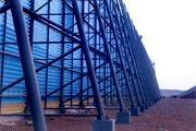 北京防风抑尘网花园挡风设施用兴华生产的防风抑尘网