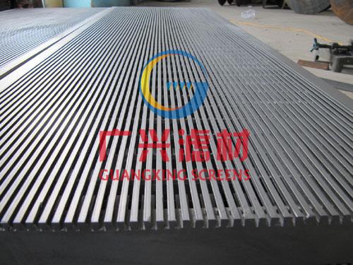 啤酒专用筛板,滤板,不锈钢V形丝焊接筛板