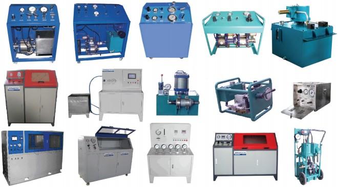 气液增压系统 水压试压机
