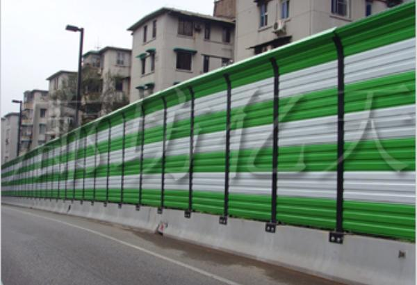 城市道路金属声屏障