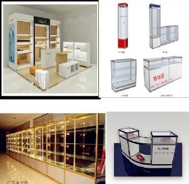 展示柜、展示架、促销台、莱特镁展示架设计