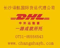 长沙DHL国际快递至美国