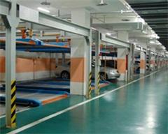 二层升降横移式立体车库、立体停车设备、郴州泰安