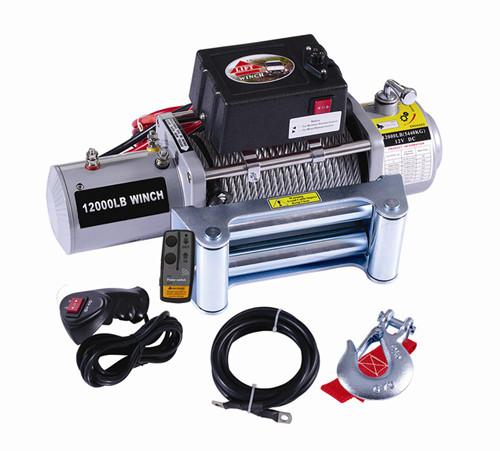 SC12000电动绞盘 电动绞车 越野车绞盘 卷扬机