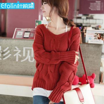 北京外贸韩版毛衣便宜又好看的外贸毛衣开衫套头衫 服装尾货批发