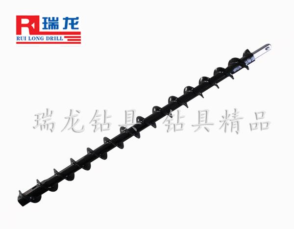 新型高效长卡豆螺旋钻杆69高效钻杆