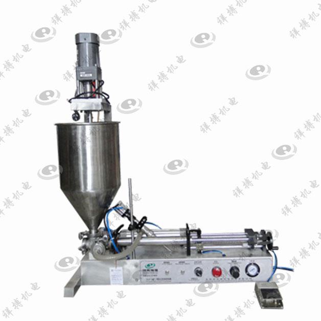供应XBGZJ-1000ML单头气动卧式灌装机