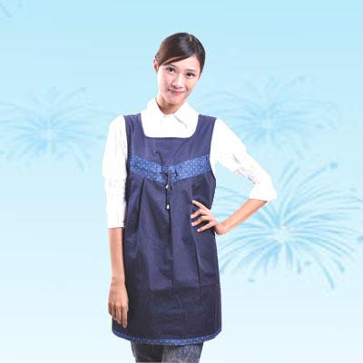 艾子孕妇防辐射服LS-13,藏青色,金属混纺面料