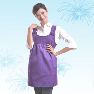 艾子孕妇防辐射服LS-51-1,罗蓝紫,金属混纺面料