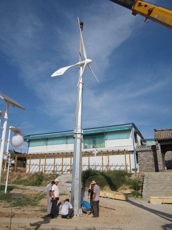是一家集研发生产销售风力发电机于一体的高科技企业,本公司致力于