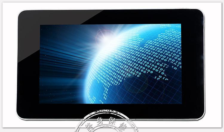 液晶广告机创视纪22寸广告机苹果楼宇高清单机版广告机钢化玻璃MG
