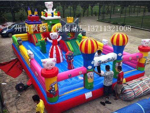 广州气模玩具厂家充气城堡充气儿童乐园大型充气攀岩