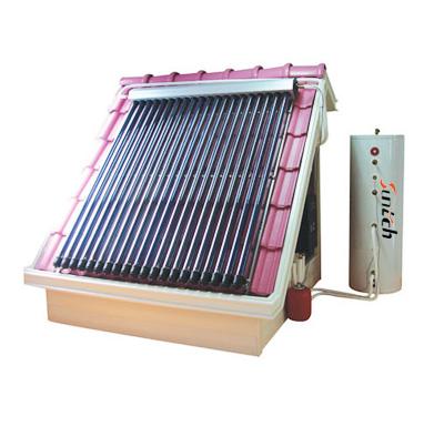 供应分体式高压太阳能热水器系统--可比皇明桑乐太阳能热水