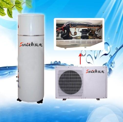 供应热泵热水器水循环--酒店/宾馆/宿舍热水工程