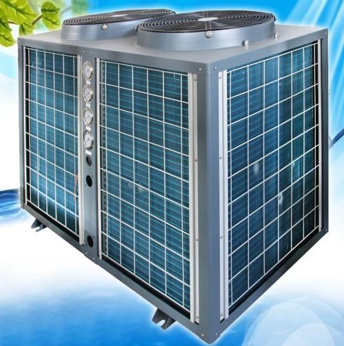 供应商用热泵热水器循环加热--酒店热水工程