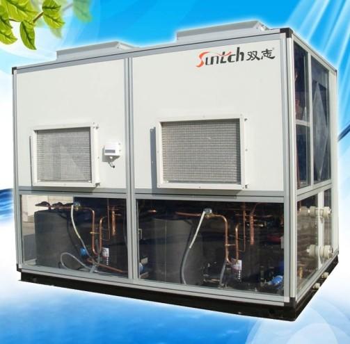 供应泳池热泵--恒温除湿能效比高