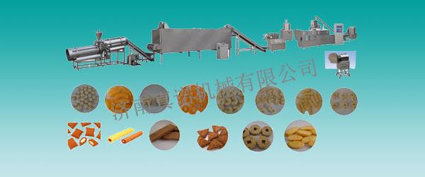普通膨化食品生产线