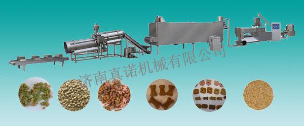 狗粮、猫粮、鱼饲料生产线宠物食品生产线咬胶型食品生产线
