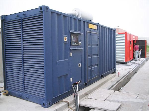 赤峰租赁发电机||低噪音发电机
