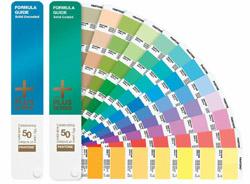 潘通专色色彩配方指南铜版纸/胶版纸(最新英文版
