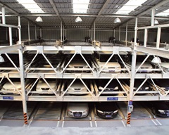 四层升降横移立体车库、郴州泰安立体车库、立体泊车位