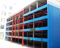 五层升降横移式立体车库、立体停车设备、郴州泰安