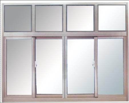 上海生产商供应铝合金推拉窗