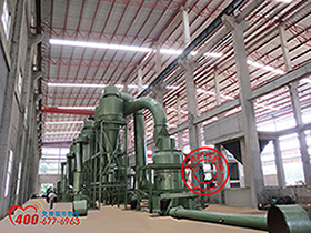 供应桂林大型磨粉机 鸿程磨粉机 矿粉磨粉机
