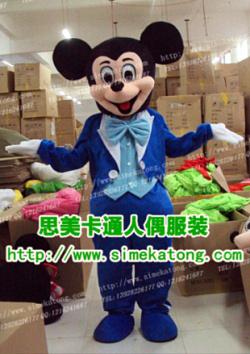卡通服装 卡通人偶 表演道具 米老鼠