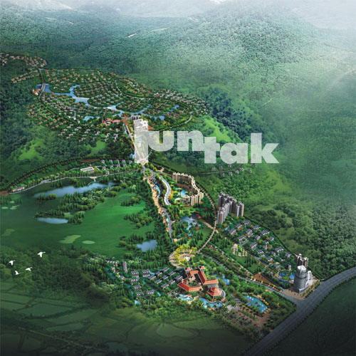 城市景观规划——河南许慎文化园总体规划及局部详细规划